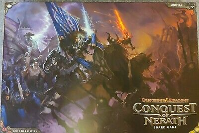 AU83 • Buy Conquest Of Nerath A Dungeons And Dragons Board Game