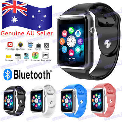 AU19.50 • Buy Bluetooth Smart Wrist Watch A1 GSM Phone For Android Samsung IPhone Man Women AU