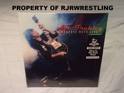 £106.19 • Buy Le Ace Frehley Greatest Hits Live Exclusive Glow In The Dark Vinyl Lp 1/300 Kiss