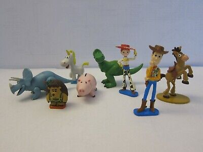 £7.18 • Buy Disney Toy Story Cake Topper Woody Jessie Rex Hamm Buttercup Trixie & More