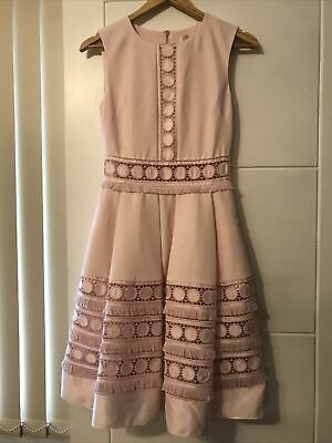 £30 • Buy Ted Baker Pink Coctail Dress Size 6 Brand New