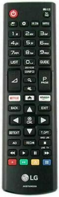 £4.89 • Buy Lg Akb75095308 Replacement Remote Control Smart Tv  Led 3d Hdtv Netflix Button