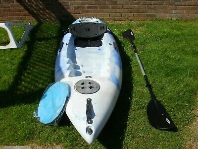 £200 • Buy Kayak,  Go Sea  Used, Not An Inflatable. Paddle, Seat Cushion, Back Rest & Sail.