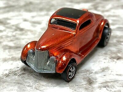 $ CDN38.98 • Buy Hot Wheels Redline Classic 36 Ford Coupe Dark Orange Red Adult Collector Toy Car