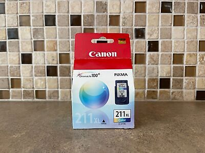 £16.87 • Buy GENUINE CANON 211XL COLOR 4C14D19 INK IP2700 IP2702 MP230 NEW *FAST SHIP* / L1-2