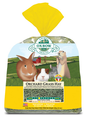 £14.99 • Buy Oxbow Orchard Grass Hay For Small Animals | Small Animals