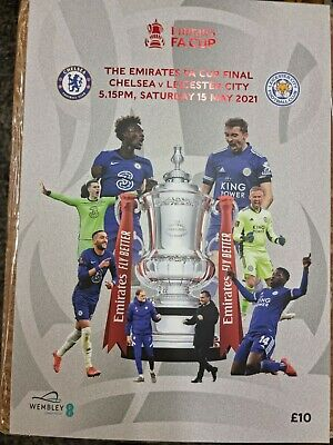 £12.80 • Buy 2021 FA CUP FINAL Programme Brand New Chelsea V Leicester City