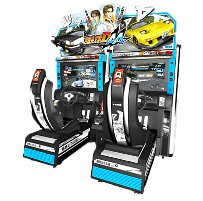 £14413.57 • Buy Initial D Stage 6 Street Racing 2-Player Arcade Coin Operated Machine SEE VIDEO