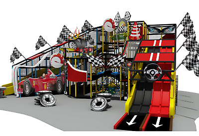£51338 • Buy 1,500 Sqft Commercial Indoor Playground Themed Interactive Soft Play We Finance