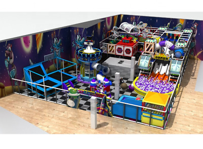£140006.06 • Buy 5,000 Sqft Commercial Indoor Playground Interactive Soft Play Turnkey We Finance