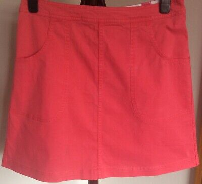 £9.99 • Buy Boden Skirt Size 12r Nwot, A-line, Chino Style.
