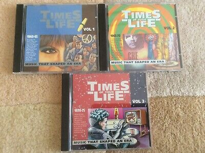 £6.49 • Buy Times Of Your Life 1960-65, 1965-70, 1970-1975 CD Collection