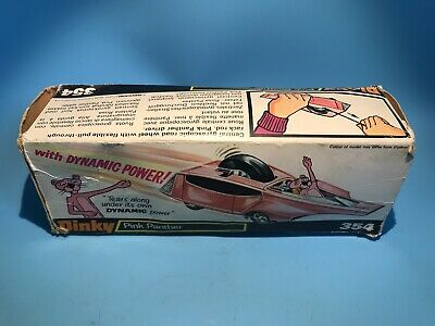 £0.99 • Buy Dinky Toys Vintage 354 Pink Panther Hot Rod Original Outer Box Rare