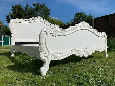 £700 • Buy Masterpiece French Antique Style 6FT Super King Bed Frame – Super Condition