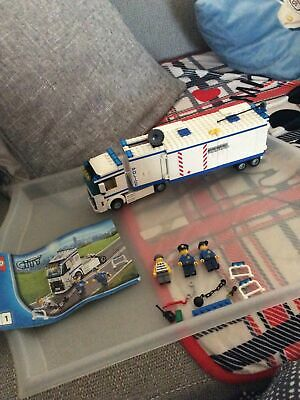 £5.50 • Buy LEGO City Mobile Police Unit (60044) Complete With Figs