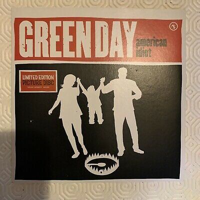 """£5 • Buy Green Day. American Idiot 7"""" Picture Disc Vinyl"""
