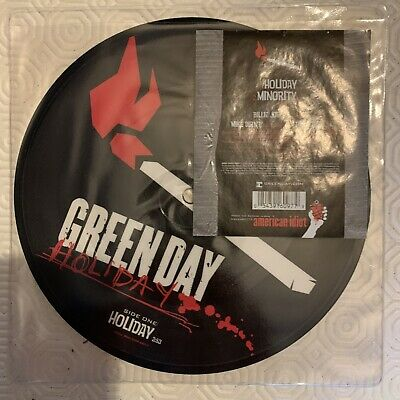 """£3.50 • Buy Green Day. Holiday 7"""" Picture Disc Vinyl"""