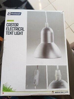 £10 • Buy Outwell Castor Electrical Tent Light
