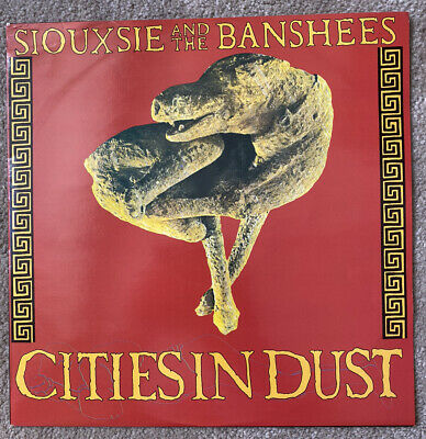 £4 • Buy SIOUXSIE & THE BANSHEES Cities In Dust 1985 Goth Rock 12  Single SHEX 9 VG+/VG+