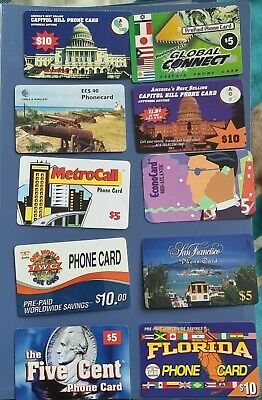 £25 • Buy 17 Used Phone Cards