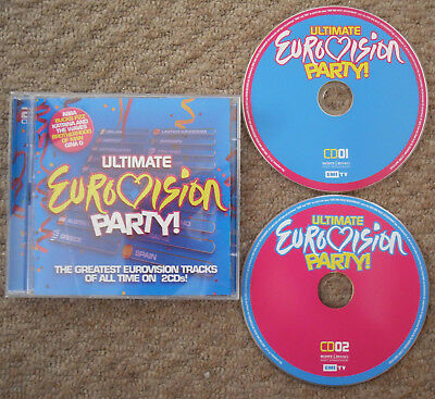 £14.99 • Buy ULTIMATE EUROVISION PARTY CD - Double-Disc - Netherlands 2021 - Holland