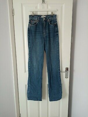 £4.79 • Buy Pull And Bear Size 8 Denim Jeans, Worn Once, Excellent Condition