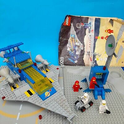 £100 • Buy LEGO Classic Space 928 Space Cruiser And Moon Base Complete W Instructions