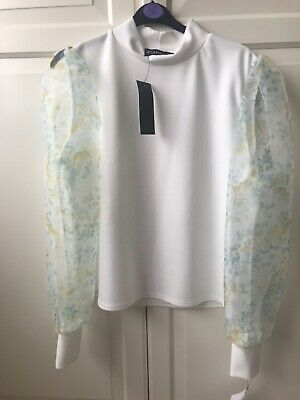 £3 • Buy Ladies Off White Top Size L - From Tk Max (ayanapa)