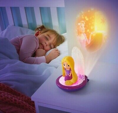£22.95 • Buy Disney Princess Rapunzel 3 In 1 Night Light, Torch And Projector