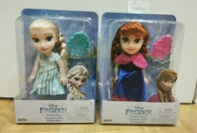 £29.99 • Buy Disney Frozen Petite Anna & Elsa Toddler Dolls, New In Boxes. Come Play With Me