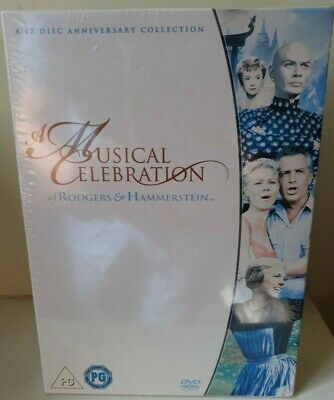 £11.99 • Buy Rodgers And Hammerstein : A Musical Celebration-12 Disc Set NEW & FACTORY SEALED
