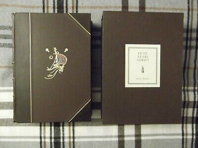 £1750 • Buy 50 Fifty Years Adrift Signed By George Harrison - Beatles Genesis Publications