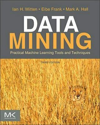 $15 • Buy Data Mining: Practical Machine Learning Tools And Techniques