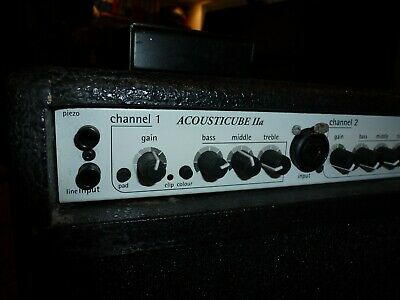 £750 • Buy AER ACOUSTICUBE IIA Acoustic Amp, Made In Germany- Good Condition - Bargain