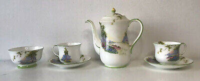 £99.99 • Buy Rare Aynsley Bone China Bluebell Time 2x Cup And Saucer Sugar Bowl And Tea Pot