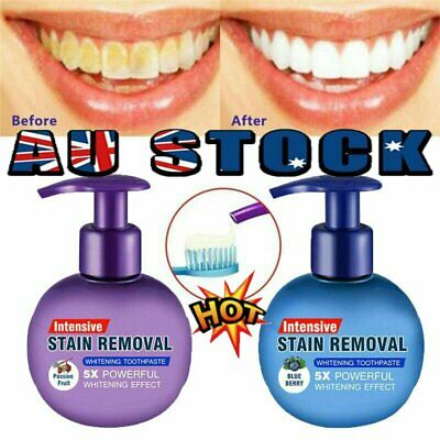 AU20.52 • Buy Instant Clean Intensive Stain Removal Whitening Toothpaste Fight Bleeding Gums N