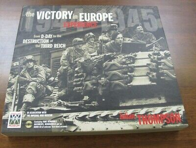 £6.99 • Buy Book Hardback Victory Europe Experience D-Day To Destruction Julian Thompson WW2