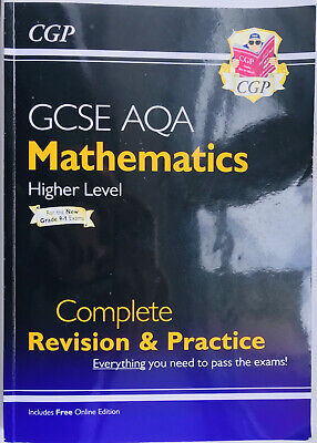 £0.99 • Buy GCSE Maths AQA Revision Guide: Higher Level By CGP Books Paperback Book