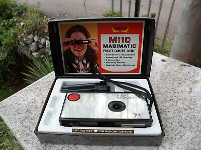 $ CDN27.57 • Buy Vintage MAGIMATIC M110 POCKET CAMERA OUTFIT IMPERIAL Chicago USA W/ Box