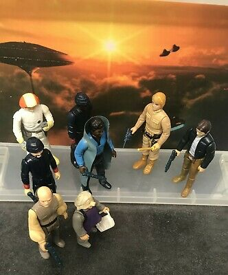 $ CDN46.41 • Buy 8 Vintage Star Wars Figures - Bespin (With Weapons & Accessories, 1981)