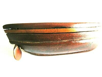 £100 • Buy Wooden Snuff Box Boat Shaped