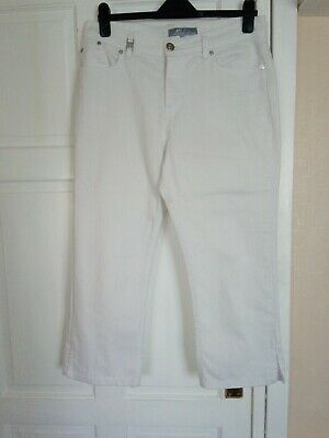 £3 • Buy Ladies Marks And Spencer Cropped Jeans Size 14