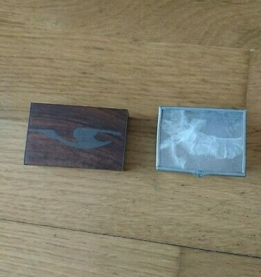 £10 • Buy Small Wooden Snuff Box And Mother Of Pearl Box Bundle