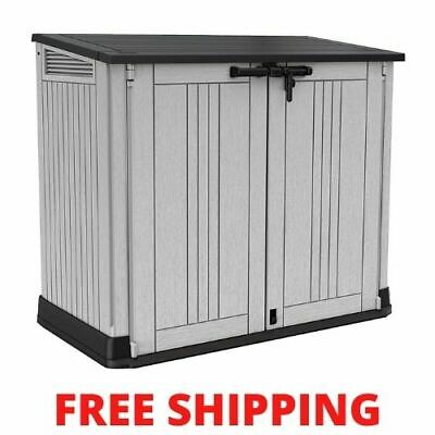 £145.99 • Buy Keter Store It Out MAX Garden Lockable Storage Box XL Shed Outside Bike Bin Tool