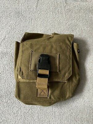 $60 • Buy Eagle Industries DGMLCS M60 Gunners Ammo Pouch MJK Black Buckle MOLLE NAVY SEAL