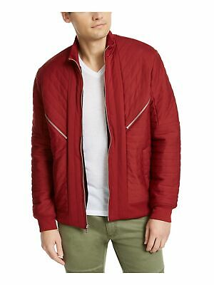 £5.96 • Buy INC Mens Red Faux Fur Lined Zip Up Jacket XL