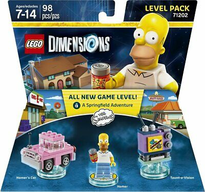 AU19.45 • Buy LEGO Dimensions Level Pack The Simpsons With Homer  71202 NEW SEALED