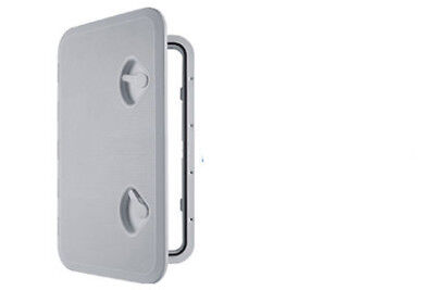 £24.99 • Buy MARINE ACCESS BOAT DECK INSPECTION HATCH 370mm X 375mm WHITE Motorhome Yacht