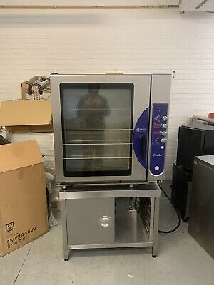 £900 • Buy Hobart Bonnet Equator 10 Grid Combi Electric Steam Convection Oven + Stand