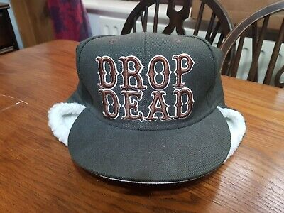 £9 • Buy Drop Dead Clothing Cap With Ear Flaps And Tags